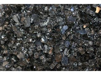 Dekoračné sklo BLACK - Fire Glass